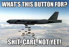 The US Department of War is the single largest consumer of energy. Ninety-three percent of US government energy consumption is military (Air Force, 52 percent; Military Memes, Us Military, Military Force, Funny Military, Discovery Turbo, B52 Bomber, B 52 Stratofortress, Us Air Force, Jet Plane