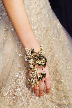Beautiful Fashion Details...Elie Saab.