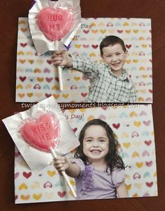 Popular 11 Day Paper Crafts For KidsPopular 11 Valentine's Day Paper Crafts For Kids. How to Make Paper Crafts for kids, Easy Paper Crafts For Toddlers für Grandparents Day Crafts, Fathers Day Crafts, Grandparent Gifts, Kinder Valentines, Little Valentine, Valentine Day Crafts, Valentine's Cards For Kids, Gifts For Kids, Art For Kids