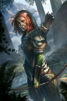 Aela the Huntress is a creature card in The Elder Scrolls: Legends that is a part of the Heroes of Skyrim expansion. Acquisition This card is acquired through progress of the main story line or by purchasing Aela's Companions deck. Elder Scrolls V Skyrim, The Elder Scrolls, Elder Scrolls Games, Elder Scrolls Online, Character Portraits, Character Art, Character Concept, Fantasy Characters, Female Characters