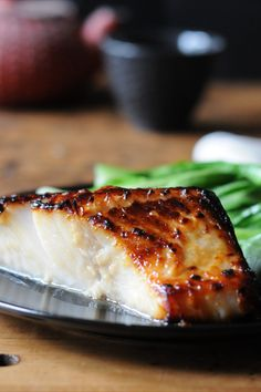 Every time I go to Japan, I eat this amazing miso and sake-infused black cod, a dish made famous all over the world now by chef Nobu Matsuhisa. Cod is one of the most delicate fish you'll ever work with, so handle it with care.