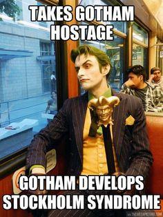 Photogenic Joker…seen so many pics of this guy