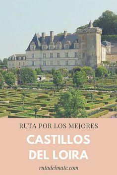 Castillos del Valle del Loira en Francia, ruta en coche de 3 días Real Castles, Picture Postcards, Toscana, France Travel, Paris France, Travel Inspiration, Taj Mahal, Tourism, Road Trip