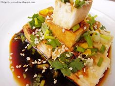 TIPS FOR DELICIOUS AND HEALTHY COOKING: Cold Tofu Salad