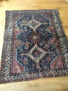 Maison de ventes aux enchères en ligne Catawiki: Fraai oud handgeknoopt Perzisch tapijt (1e helft 20e eeuw)