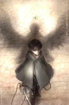 Levi Ackerman - Attack on Titan - Shingeki no Kyojin Armin, Mikasa, Eren E Levi, Attack On Titan Levi, Ereri, Levihan, Levi Ackerman, Tokyo Ghoul, 5 Anime