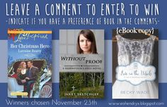 Thinking Thoughts: Lorraine Beatty, Becky Wade & Janet Sketchley | New Novel News | interviews and giveaways (ends Nov 23, 2015) Lorraine, Giveaways, Authors, Writer, Novels, Interview, Romantic, Thoughts, Reading