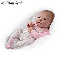 Linda Murray Elizabeth Fully Weighted And Poseable Baby Girl Doll