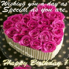 Happy Birthday Wishing You a Day as Special as You Are