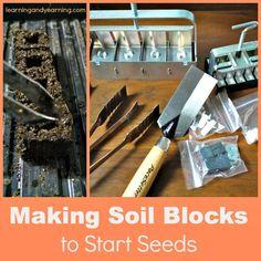 Making Soil Blocks to Start Seeds
