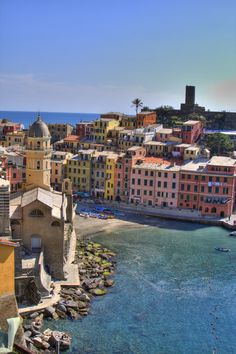 Vernazza, Cinque Terre, Liguria, Italy - Next Stop....!!!