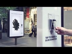Contactless Payment Donations Campaign for Melanoma Institute | JCDecaux...