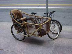 BICYCLE RATTAN SIDECAR