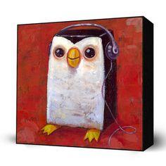 HipHop Penguin by Aaron Jasinski