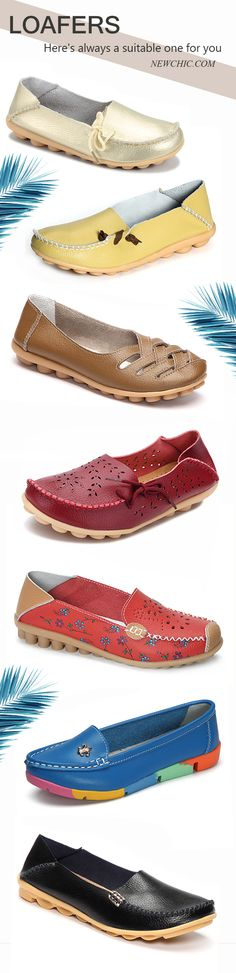 Hot Sale  Women Comfy Leather Flats & Loafers