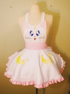 This is a one of a kind MADE TO ORDER Artemis apron! Fun to wear while youre cooking or have guests over. A great gift for the holidays and anyone