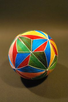 May2009_my 88yrs old grandma's works : TEMARI by NanaAkua, via Flickr