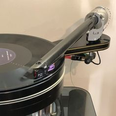 Dynavectors cartridge is exciting and dynamic mounted on The Wand tonearm and fabulous Aura turntable. (thanks to Paul for the photo) Turntable, Wands, Arm, Record Player, Arms, Chopsticks, Fairy Wands, Sticks