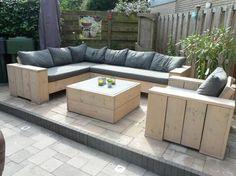 Outdoor Decor, Outdoor Couch, Patio Design, Garden Furniture, Outdoor Furniture, Outdoor Lounge, Pallet Patio, Pallet Furniture, Outdoor Living