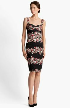 Dolce Print Cady Dress available at #Nordstrom