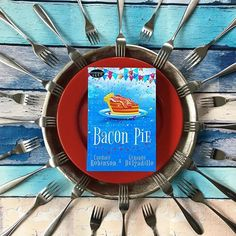 Happy #bookbirthday to @literarydust and @delgadillo_gerardo for Bacon Pie. This book sounds super cute and I love the name...Piggy Palooza! Synopsis below.  Are there any strange local festivals where you live (like Piggy Palooza in Bacon Pie)? Where I live there is something called the HonFest where women dress as Hons and compete to be the Hon-est chick there is. Being a Hon requires beehive hairdos retro dresses and eyeglasses and everything ever shown in the movie Hairspray (which takes…