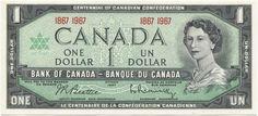 1 DOLLAR 1967 (CONFEDERATION)