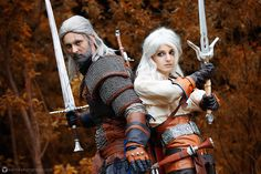 Geralt and Ciri by KinslayeR13.deviantart.com on @DeviantArt