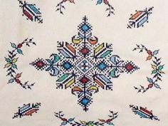 Point de Fes - broderie marocaine