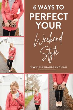 Hello Gorgeous! It's finally here, the weekend! While weekends are typically for more casual outfits, just because your look is casual doesn't mean you have to compromise your personal style! Here are my six tips and tricks for putting together the BEST weekend look! You'll love it! #weekendvibes #ootd #casualchic #casualwomensfashion
