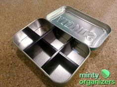 Altoids tins: Cool idea for those Altoid Tin lovers out there.