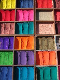 Pigmentos Naturales / Estudio de la naturaleza enfocado al arte