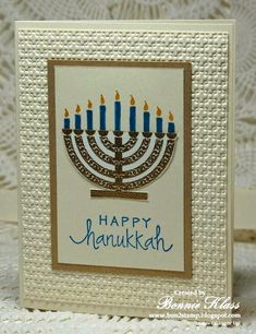 I missed posting this for the first day of Hanukkah. Hopefully it's better l. I missed posting this for the first day of Hanukkah. Hopefully it's better late than never. Diy Hanukkah, Hanukkah Greeting, Feliz Hanukkah, Hanukkah Cards, Hanukkah Decorations, Christmas Hanukkah, Happy Hanukkah, Hannukah, Christmas Cards To Make