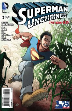 Superman Unchained #3 - Aaron Kuder (2013)