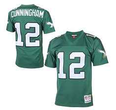 61eb839f7aa Randall Cunningham Philadelphia Eagles Throwback Green Jersey (Size  XXXX-Large) https:/
