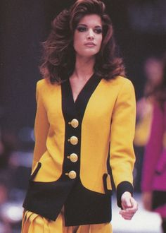 Stephanie Seymour, Versace 1991