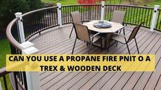 If we compared Trex decking with wood, Trex decking is better than wood because quick power washing is all the maintenance Trex requires. Besides this, if we talk about wood, so wood deck takes constant care. Simple is that Trex decking is more durable and long-lasting than wood decking. Are you don't want to deal with a wood fire pit? Then propane fire pits and fire table is the best choices for you. Fire Pit On Grass, Wood Fire Pit, Wood Burning Fire Pit, Fire Pits, Trex Decking, Composite Decking, Portable Propane Fire Pit, Decking Material, Fire Table