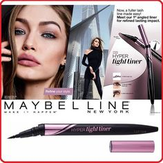Maybelline Hyper Tight Eye Liner 0.55g. : Black