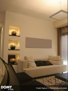 Painting a Canvas in One Color is a quick and inexpensive way to add interest and color to your walls, especially if you are reluctant on wall color. Room Wall Colors, Neutral Walls, Hanging Canvas, Color Studies, Home Decor Inspiration, Decor Ideas, Modern Room, Built Ins, Living Room Designs