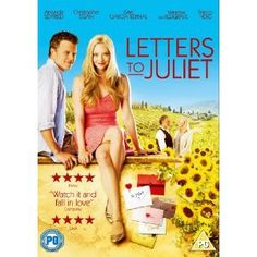 letters to juliet dvd cover Letters to juliet- i love how he looks like he is explaining the national debate to her, oh well, cute ice cream scene:.