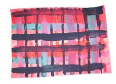 Scotland is, of course, famous for its tartans. Why not have a go at designing your own with this tartan painting idea? Painting For Kids, Art For Kids, Crafts For Kids, Painting Art, Lessons For Kids, Art Lessons, Katie Morag, Tartan Crafts, Scottish Festival