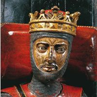 Detail of Robert Duke of Normandy  Gloucester Cathedral