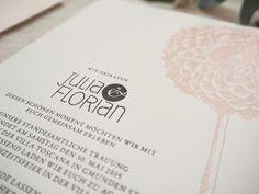 Klassisch & elegante Hochzeitspapeterie im Letterpress Druck #carissimoletterpress #hochzeitseinladung #letterpress