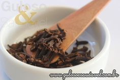 """O cravo da Índia foi classificado como """"o melhor antioxidante natural""""! Cravo da Índia, Saiba mais Benefícios!  Artigo aqui => http://www.gulosoesaudavel.com.br/2015/09/10/saiba-mais-beneficios-cravo-india/"""