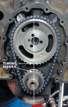 Chevy Small-Block Firing Order and Torque Sequences 8 Truck Repair, Engine Repair, Car Engine, Engine Rebuild, Chevy Motors, Motor Diesel, Car Fix, Car Restoration, Car Shop