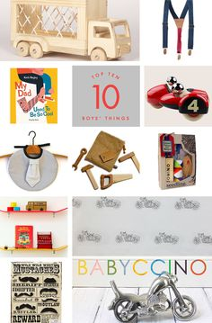 Our selection for boys (and maybe a little bit for Dads too!)
