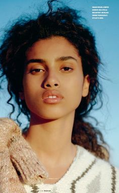 imaan hammam by zoe ghertner for i-d winter 2014