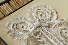 Antique French 19th century handmade lace by ExquisiteThreads