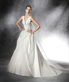 Dupion dress