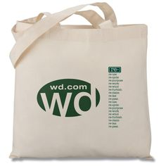 Bags | Totes | Eco Design Organic Cotton Tote (Item No. 102681-N-ED) from only $2.25 ready to be imprinted by 4imprint Promotional Products