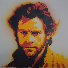 Hugh Jackman portrait, graffiti stencil art. Get one with your own picture. Mail: kunst.graffiti@gmail.com for more information. Or go to our website